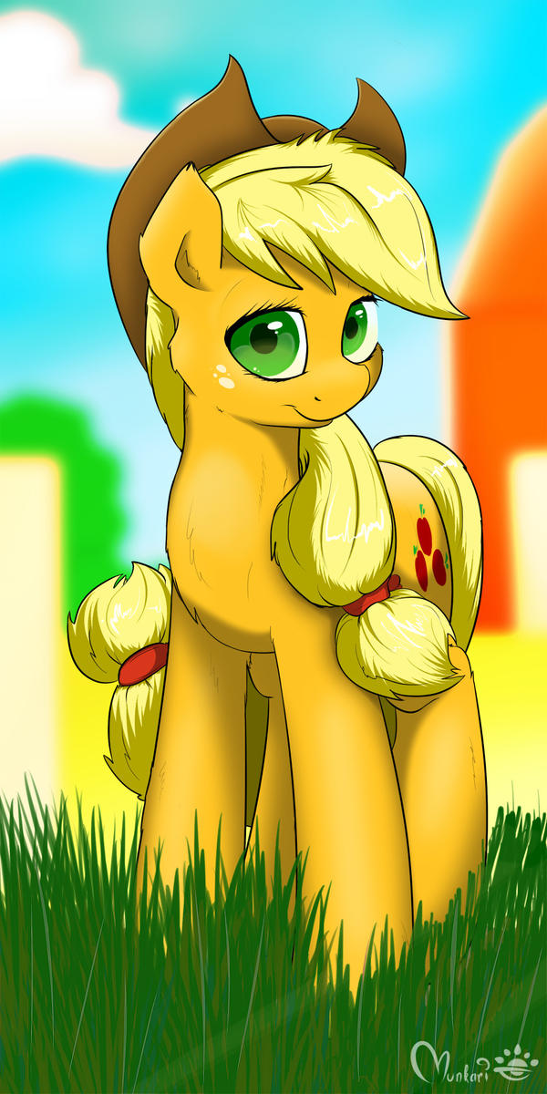 Applejack by Munkari