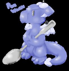 Peri Winkle the Dragon by SweetNSourStuff