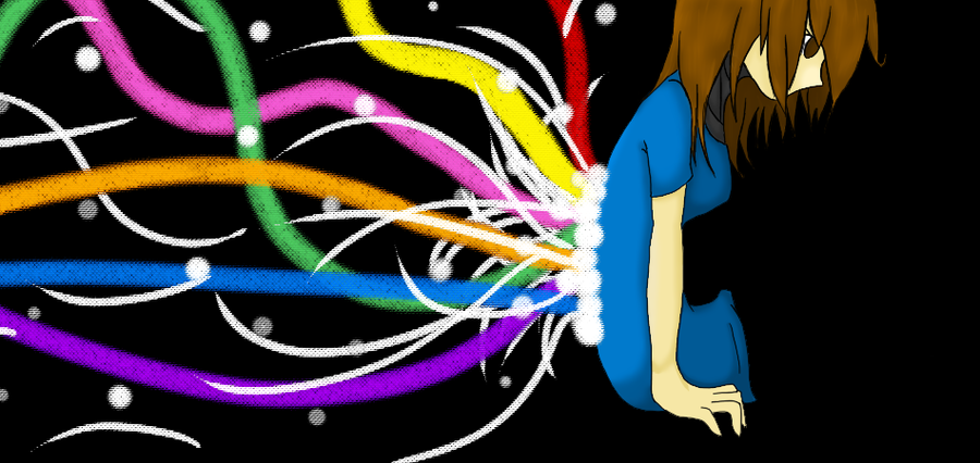 The Hidden Rainbow by Mewi1