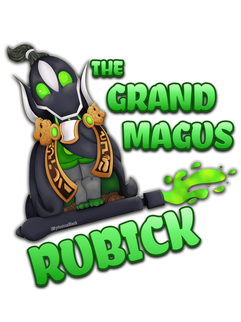 The Grand Magus Rubick! by Mewi1