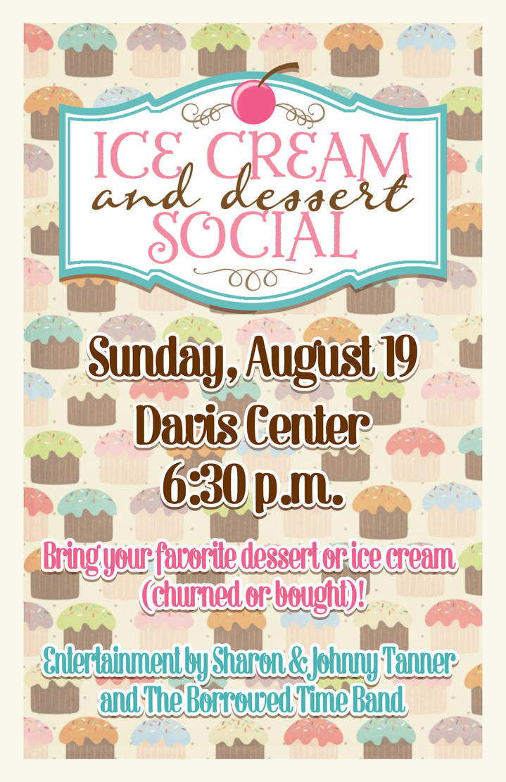 poster ice cream and dessert social by candysc78 on deviantart. Black Bedroom Furniture Sets. Home Design Ideas