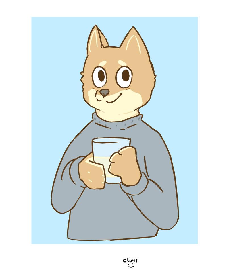 Damien June - Barkley Town Bookworm by Kitsune-Secrets