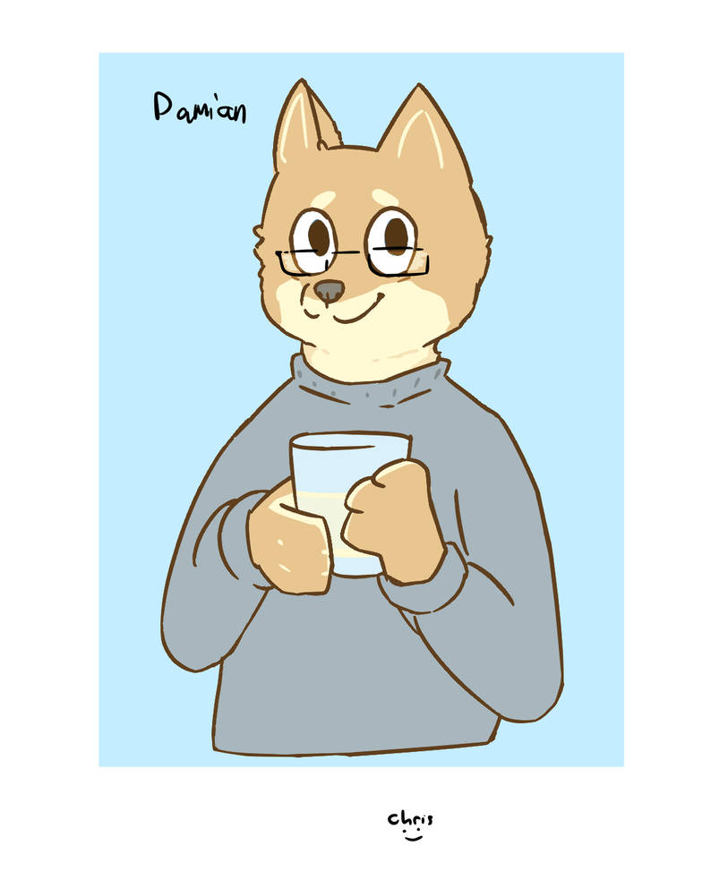 Damien June - Glasses Variant by Kitsune-Secrets