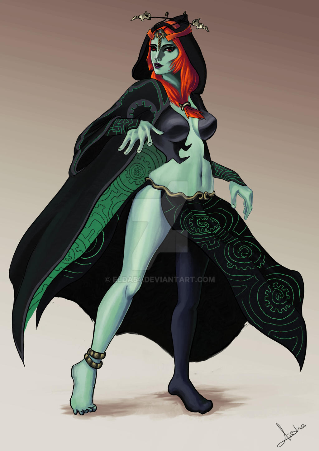game the legend of zelda midna
