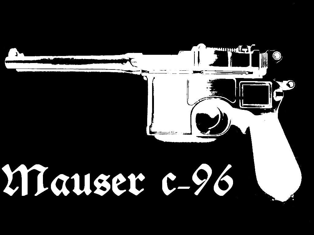 Mauser c-96 stencil by posts