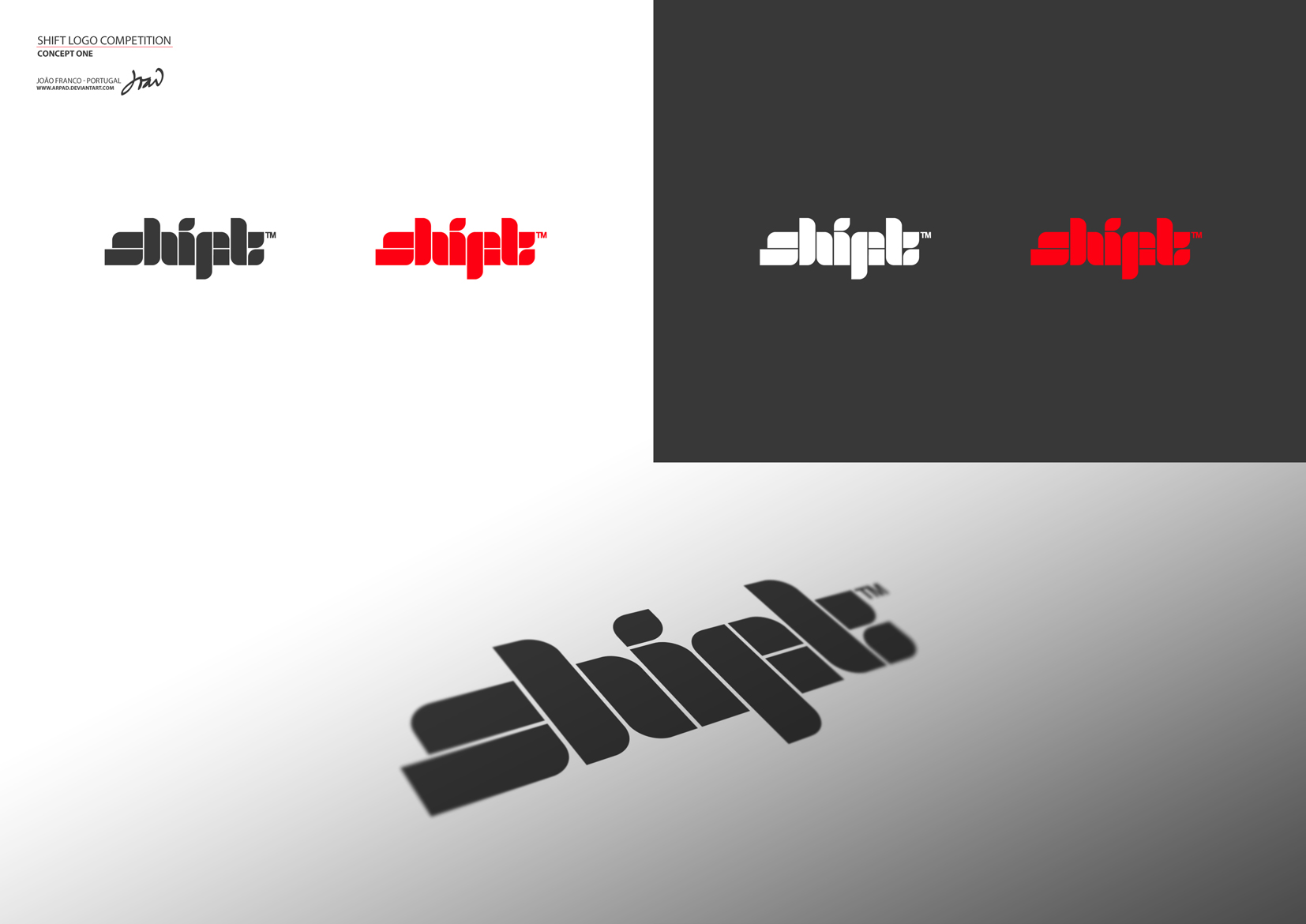 SHIFT Logo Competition 1