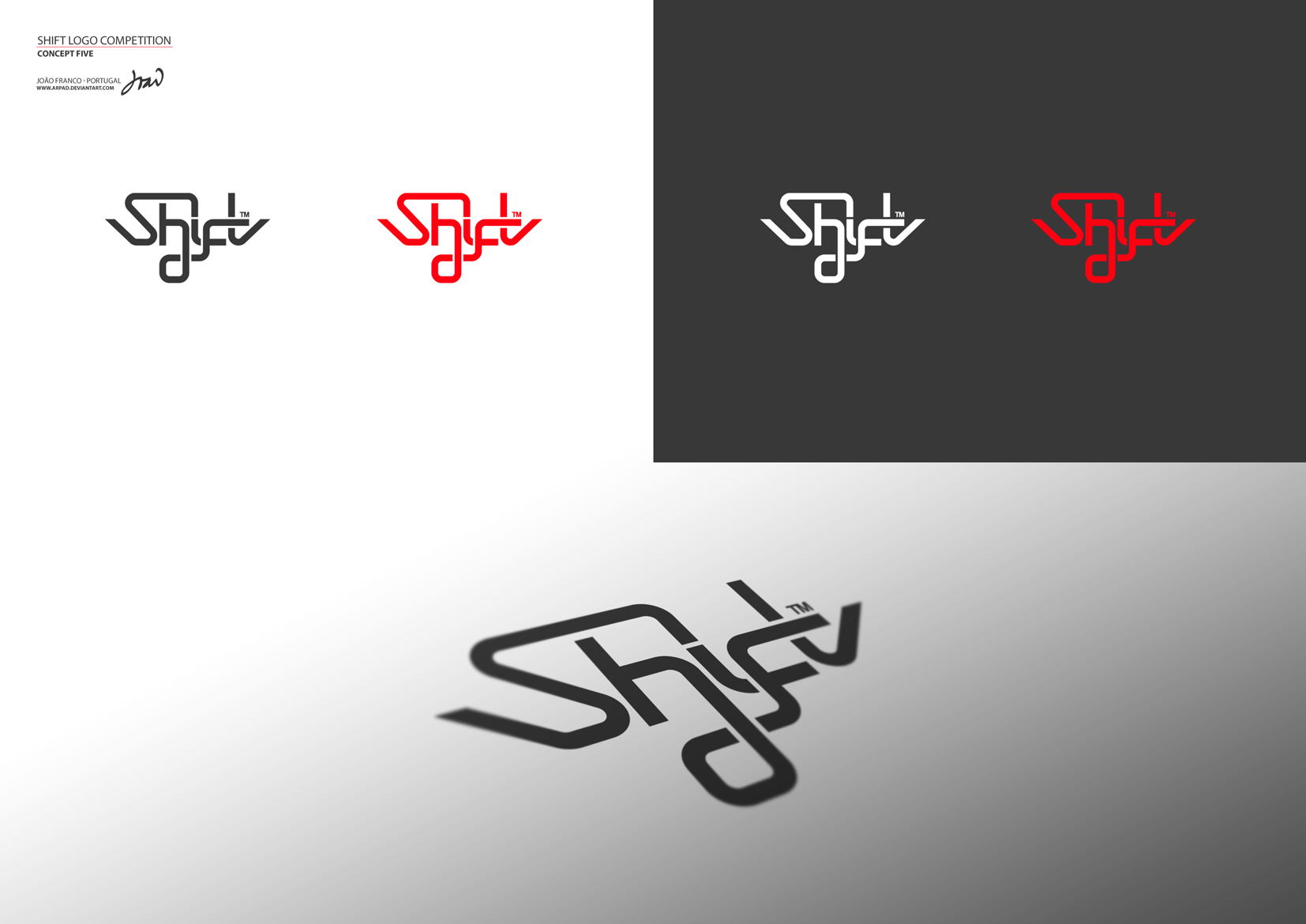 SHIFT Logo Competition 5