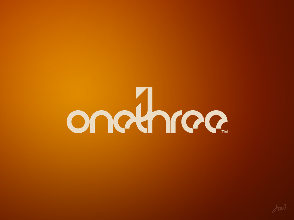 OneThree logo contest II by arpad