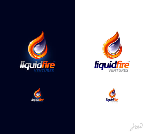 LiquidFire logo by arpad