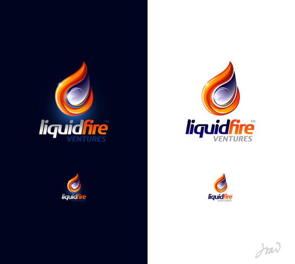 LiquidFire logo by arpad