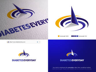 Diabetes Everyday logo by arpad