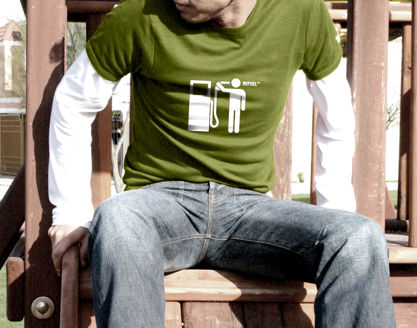 Refuel t-shirt by arpad