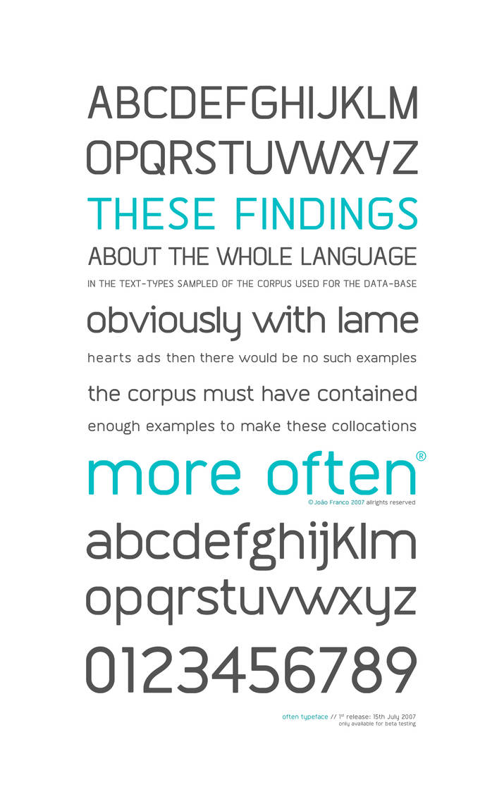 Often tf - beta version POSTER by arpad