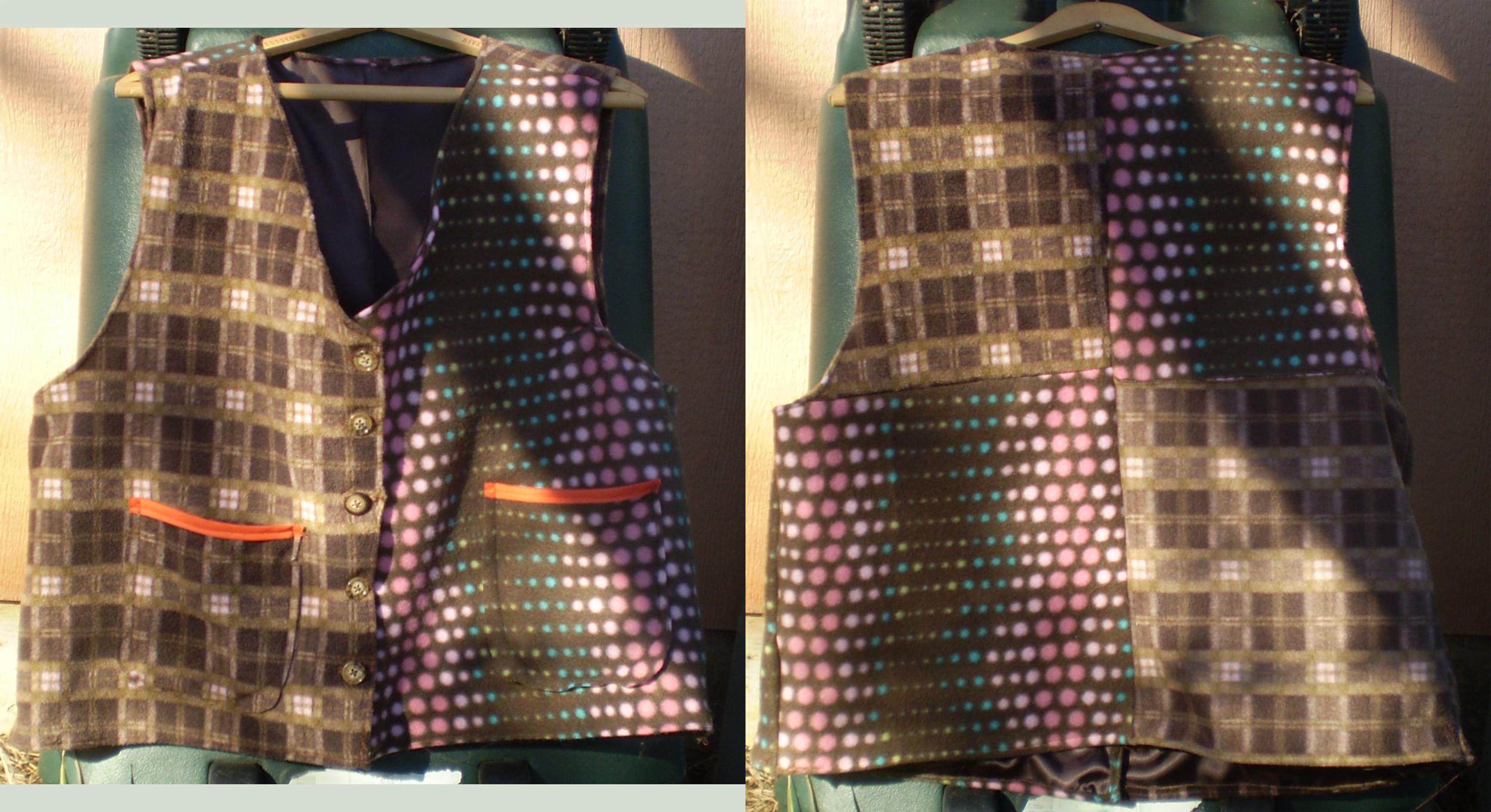 The Sixth Doctor's Vest by darksporechild