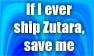 Save Me From Zutara stamp by darksporechild