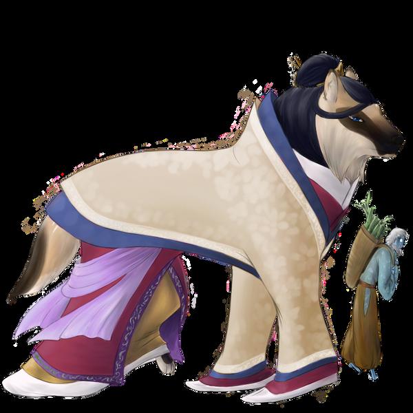 Night Parade - 100 Tokotas Princess Kaguya by DreamingFoxfire