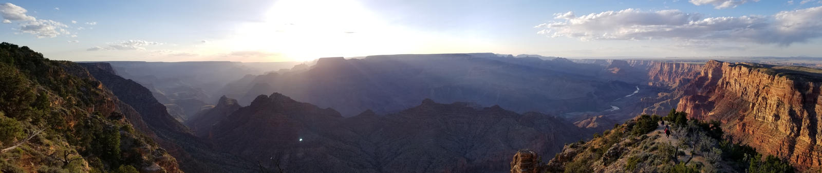 Grand Canyon: Desert View by DreamingFoxfire