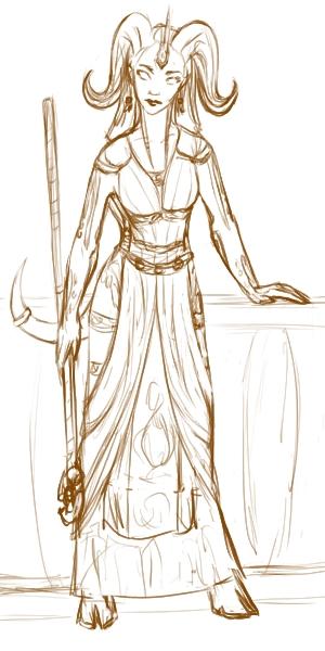 Aanu - WoW Priest by DreamingFoxfire