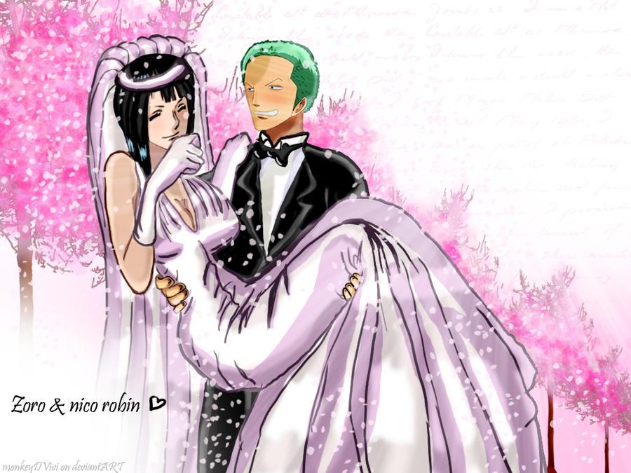 Zoro and nico robin by bellesisi on deviantart - Robin 2 ans plus tard ...
