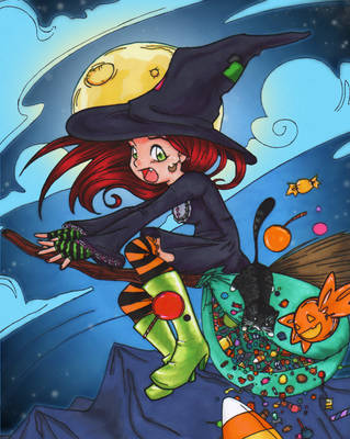 Halloween Fiasco - Colored! by IAmArkain