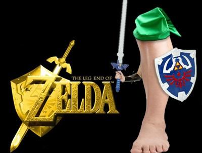 The LEG End Of Zelda! (lol geddit?) by ElliotJK2000