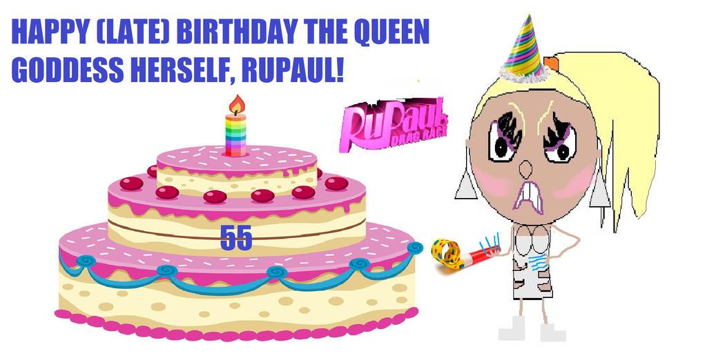 Happy Birthday RuPaul! by ElliotJK2000