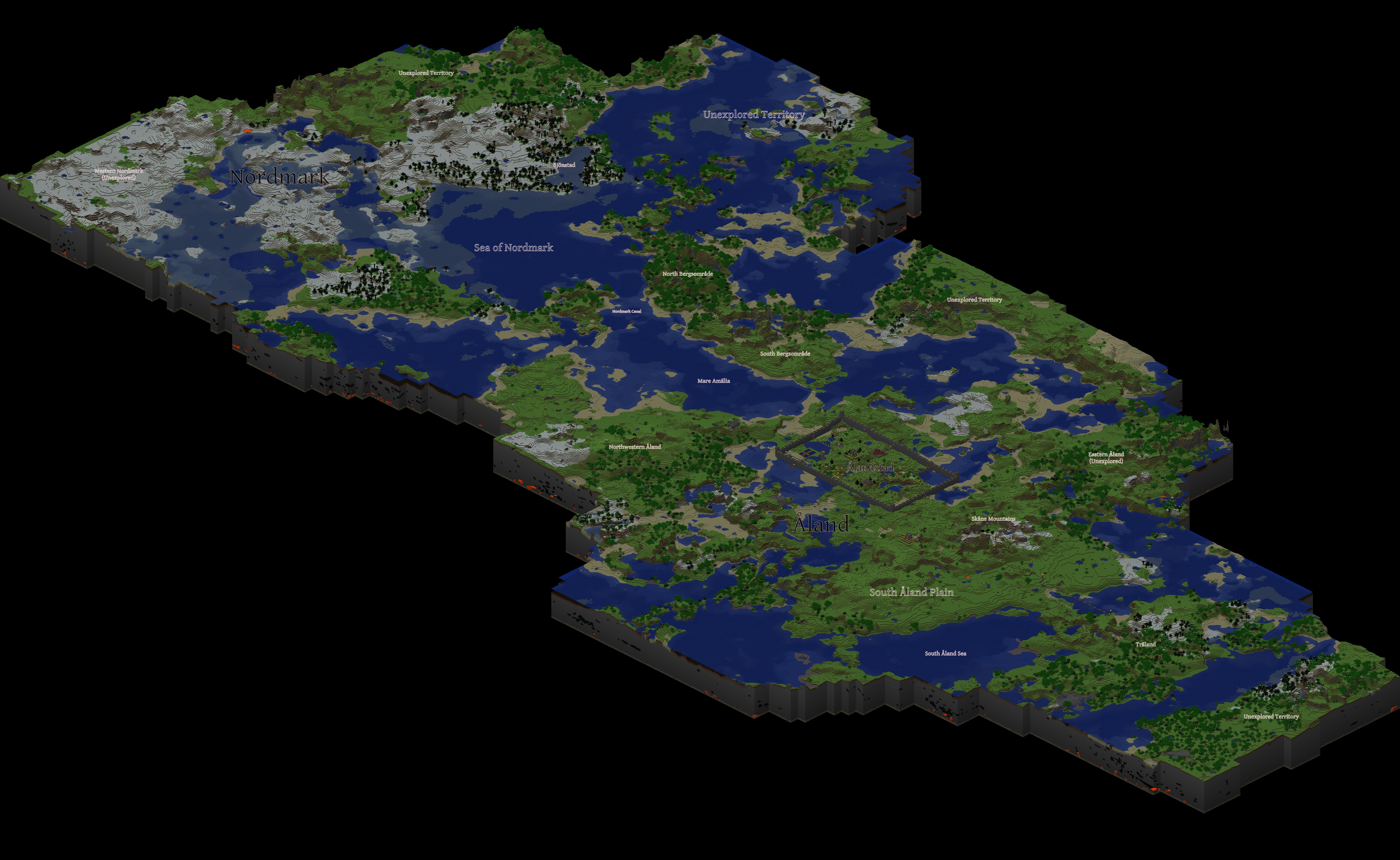 Map of my Minecraft World by adalwulfhelfgott on DeviantArt