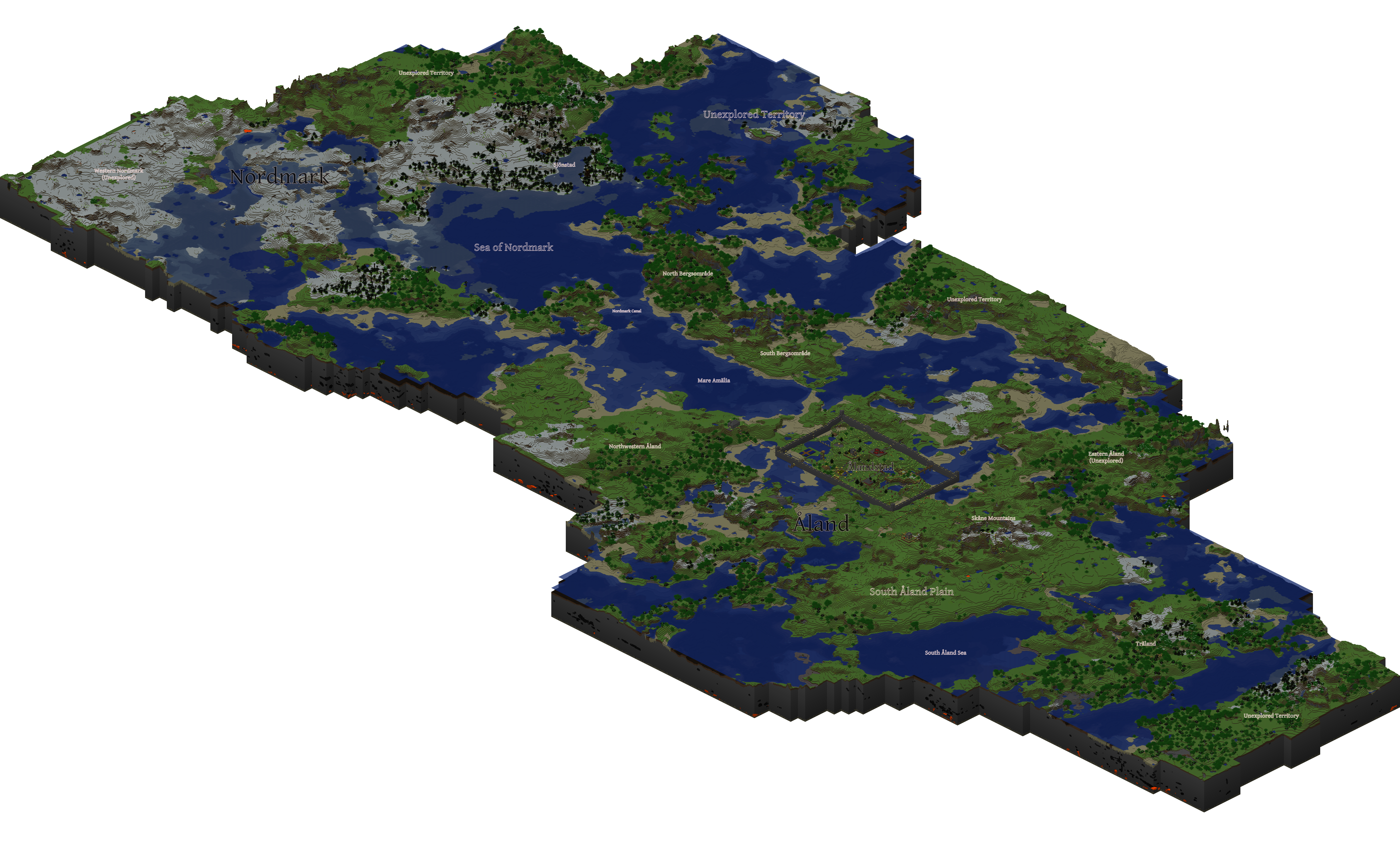 Map of my Minecraft World by adalwulfhelfgott on DeviantArt