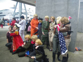 MCM London Expo Hetalia 7 May 2014 by TheCosplayerMoka