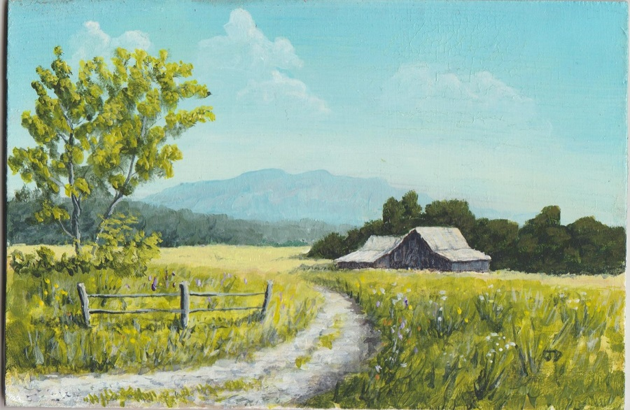 Another Country Road 4x6 by JDunifer