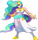 SF3 Princess Celestia by HIIVolt-07