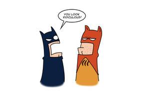 Catman and Batman DSC by Super-Josh