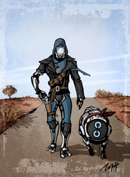 Quarian and his dog