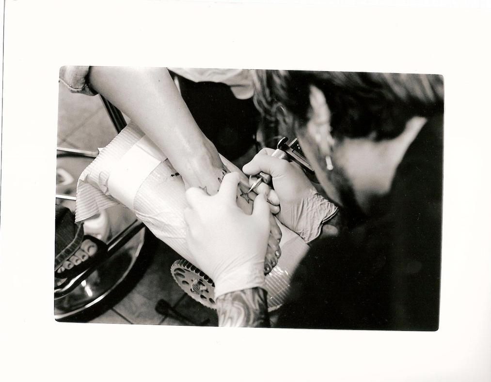 tattoo ribs text