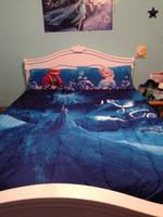 My Frozen room! :D by KagomeHanami