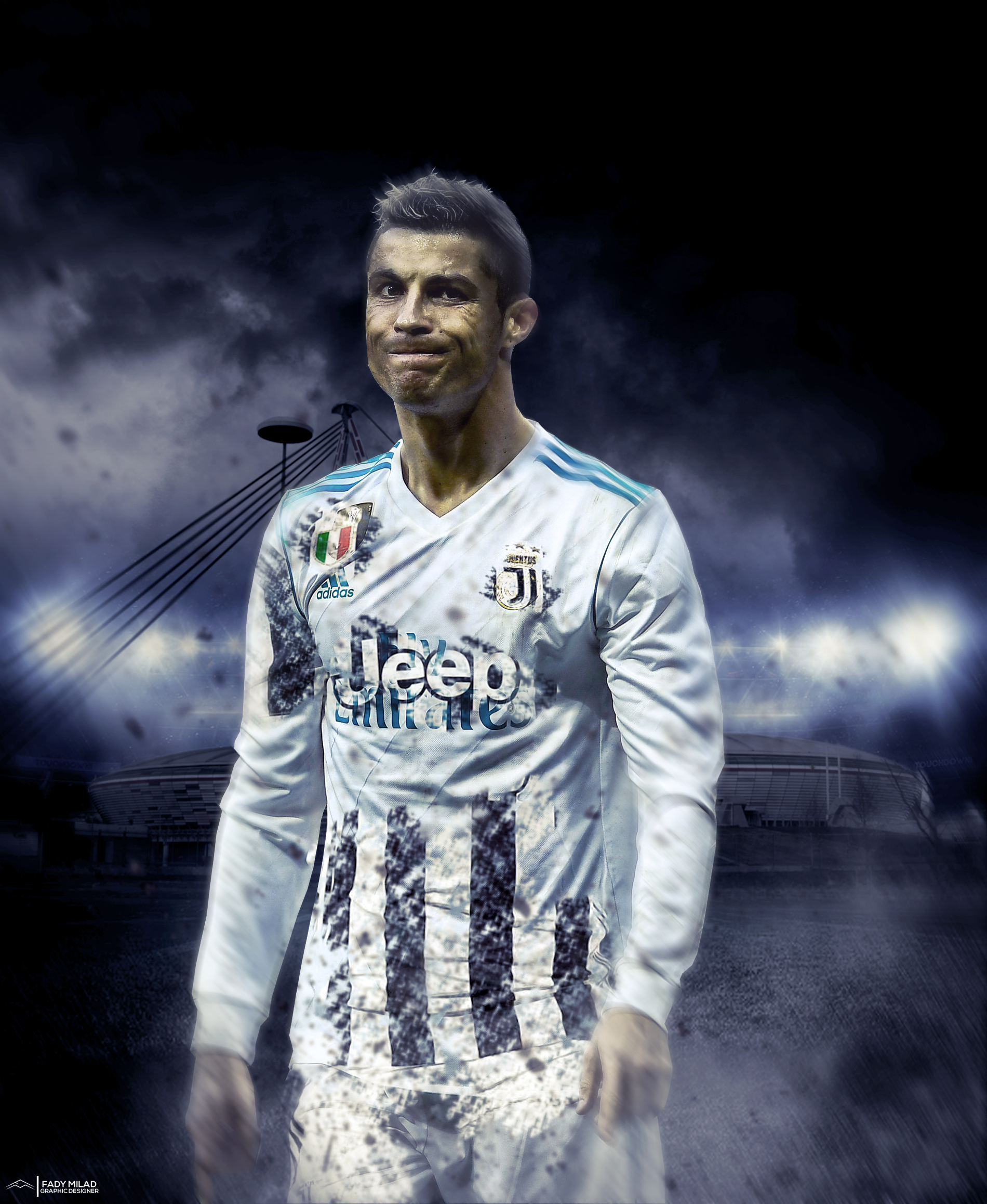 Cristiano Ronaldo Wallpaper: Cristiano Ronaldo To Juvemtus By FadyDesigner On DeviantArt