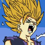 Gohan dragon ball z by Dead2Animations