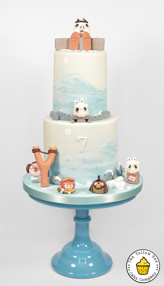 Angry Birds Star Wars Cake by Vixxybo on DeviantArt