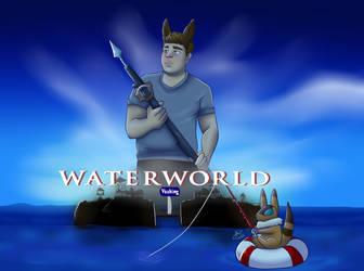 Waterworld Title Card