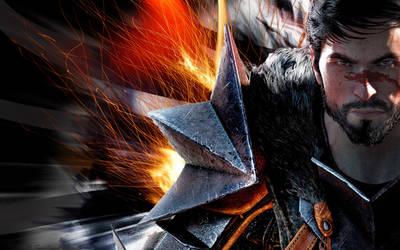 Dragon Age 2 Hawke by halirar