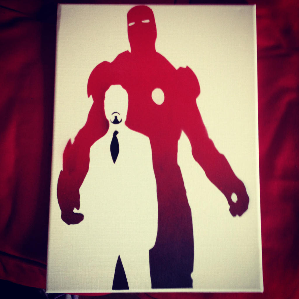 inside ironman spray paint stencil by chifferroo on deviantart. Black Bedroom Furniture Sets. Home Design Ideas