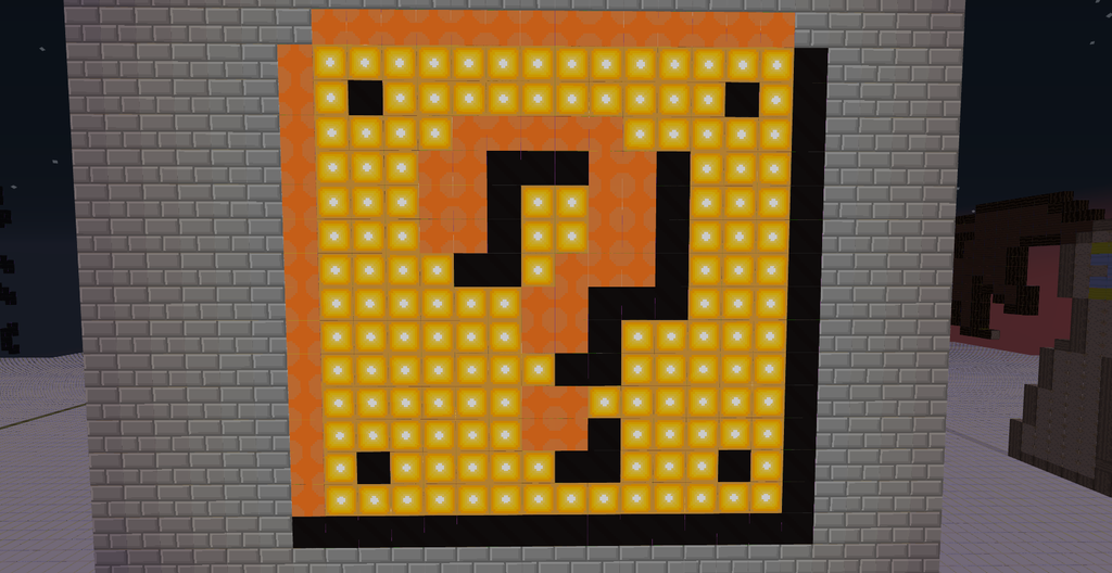 pixel art question mark