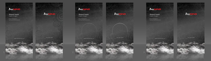 FreeMind  business Card design by Mood-man