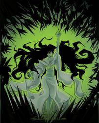 Azami's Fury by nillia