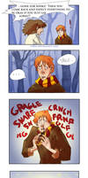 Ron Hermione Moment