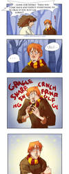 Ron Hermione Moment by nillia