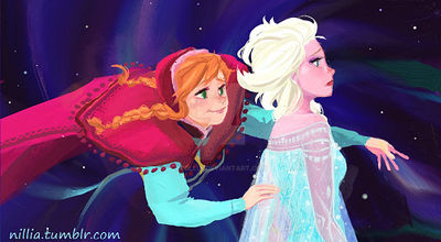 Frozen Close Up  (See Full Image on Tumblr)