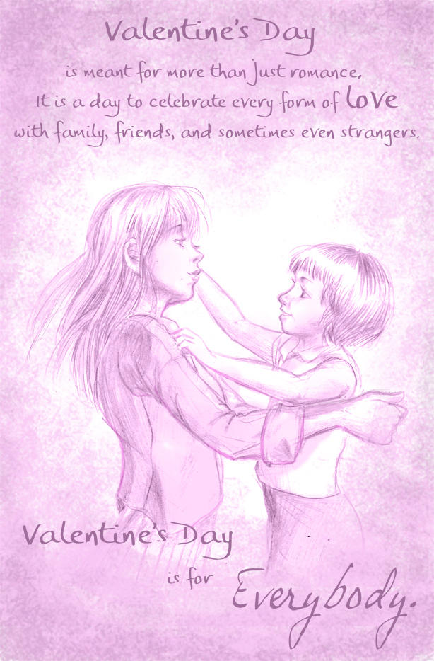Valentine's Day for Everybody by nillia