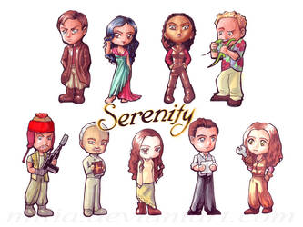 Firefly's Serenity Cast by nillia