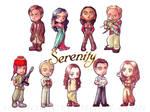 Firefly's Serenity Cast